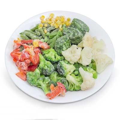 冷冻蔬菜色选